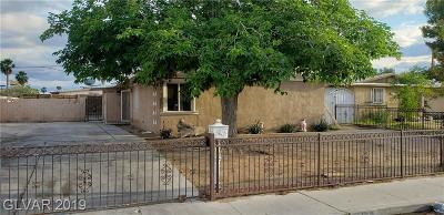 North Las Vegas Single Family Home For Sale: 3701 Webb Avenue