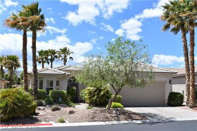 Las Vegas Single Family Home For Sale: 4589 Denaro Drive