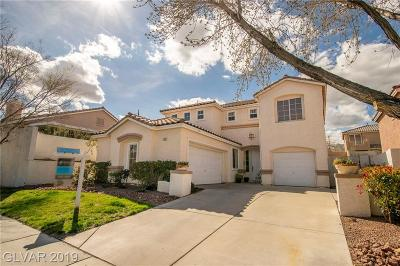 Las Vegas Single Family Home For Sale: 1809 Snow Spring Lane
