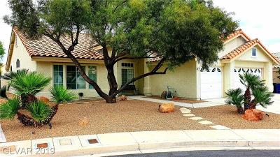 Las Vegas Single Family Home For Sale: 790 Bachman Court