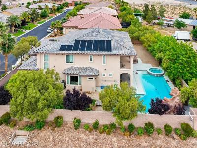 Las Vegas Single Family Home For Sale: 8010 Palm Cove Court