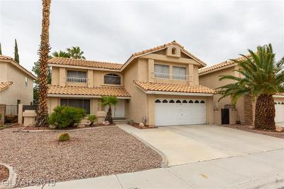 Las Vegas Single Family Home Under Contract - No Show: 2716 Quail Roost Way