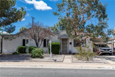 Henderson Single Family Home For Sale: 524 Burton Street