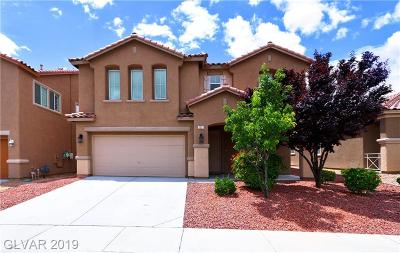 North Las Vegas Single Family Home For Sale: 2221 Silvereye Drive