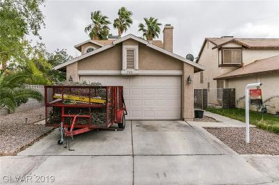 Las Vegas Single Family Home For Sale: 740 Lincoln Road