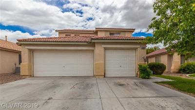 North Las Vegas Single Family Home For Sale: 1909 Fighting Falcon Lane