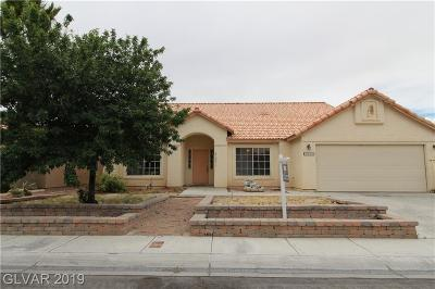 North Las Vegas Single Family Home For Sale: 3635 Anya Way