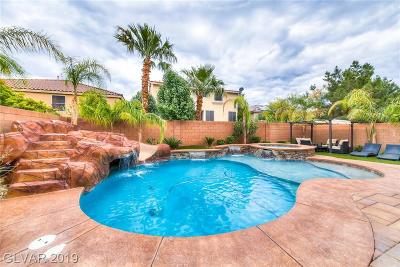 Las Vegas Single Family Home For Sale: 9958 Baystone Street