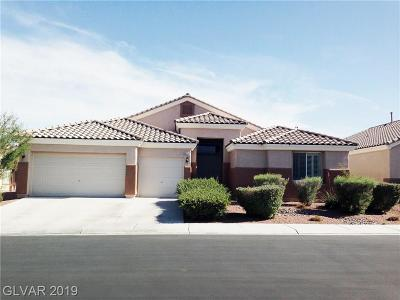 North Las Vegas Single Family Home For Sale: 2613 Tanagrine Drive