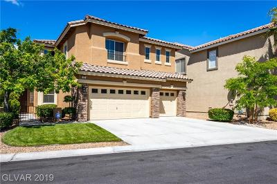 Las Vegas Single Family Home For Sale: 417 Copper Valley Court