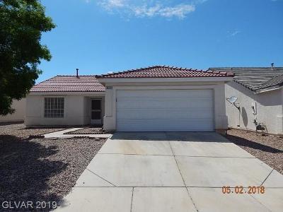 North Las Vegas Single Family Home For Sale: 3633 Nairobi Lane