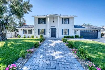 Clark County Single Family Home Sold: 2301 West El Camino Avenue