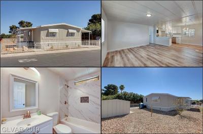 Las Vegas Manufactured Home For Sale: 3600 Estes Park Drive
