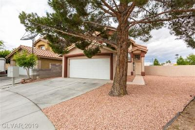 Las Vegas Single Family Home For Sale: 4140 Buffalo Bill Avenue