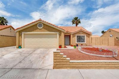 Las Vegas Single Family Home For Sale: 6312 La Madre Way