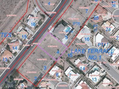 Boulder City Residential Lots & Land For Sale: 961 Keys Drive
