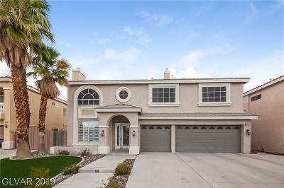 Las Vegas NV Single Family Home Under Contract - No Show: $460,000