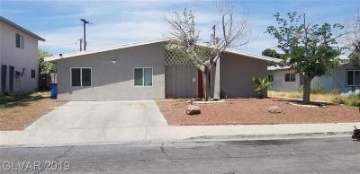 Las Vegas Single Family Home For Sale: 4324 Sawyer Avenue