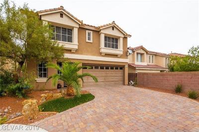 Las Vegas Single Family Home For Sale: 6702 Treble Clef Avenue