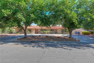 Las Vegas Single Family Home For Sale: 3672 Rosecrest South Circle