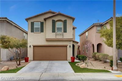 Las Vegas Single Family Home For Sale: 10681 Upper Laurel Street