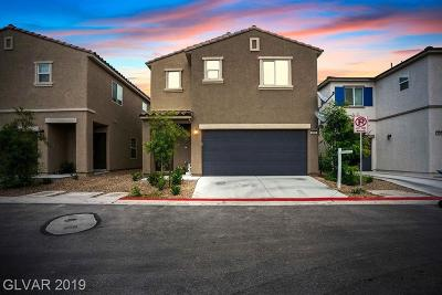 Las Vegas Single Family Home For Sale: 3690 Via Segundo Avenue