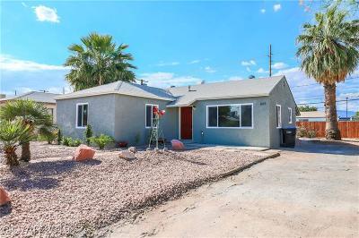 North Las Vegas Single Family Home For Sale: 808 Lillis Avenue