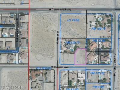 Centennial Hills Residential Lots & Land For Sale: Regena Avenue