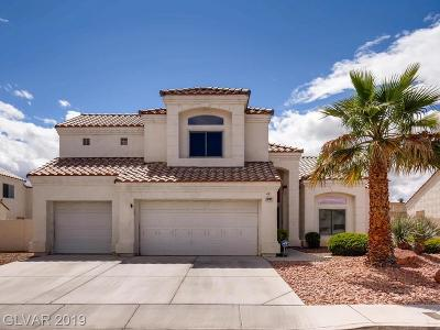 Las Vegas Single Family Home For Sale: 3259 Cambridgeshire Street