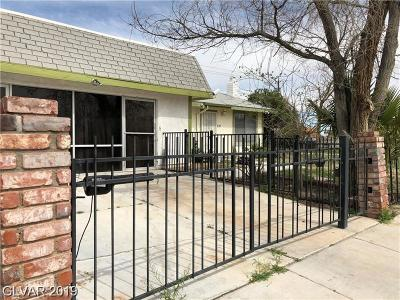Las Vegas Single Family Home For Sale: 6310 Meadow Lark Lane