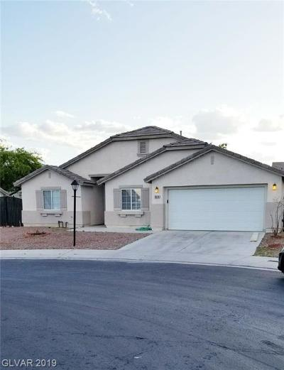 North Las Vegas Single Family Home For Sale: 3319 Resonance Court