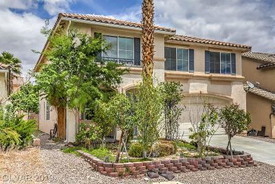 Las Vegas Single Family Home For Sale: 8230 Cassis Court