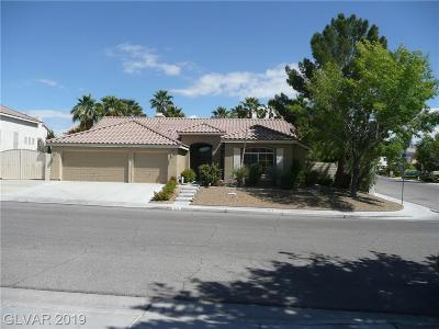North Las Vegas Single Family Home Under Contract - Show: 1228 Dover Glen Drive