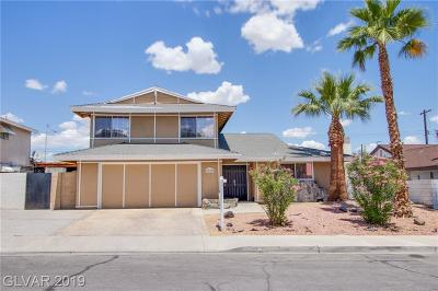 Las Vegas Single Family Home For Sale: 3604 Casa Grande Avenue