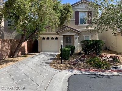 Las Vegas Single Family Home For Sale: 120 Thornless Rose Court