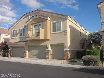 Las Vegas Condo/Townhouse Under Contract - No Show: 9069 Camp Light Avenue #102