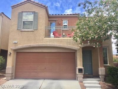 Las Vegas Single Family Home For Sale: 7421 Corcoran Street
