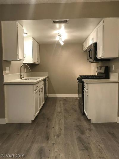 NORTH LAS VEGAS Condo/Townhouse Under Contract - Show: 3009 St George Street #C