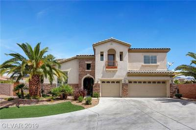 Centennial Hills Single Family Home For Sale: 6214 Ebony Legends Avenue