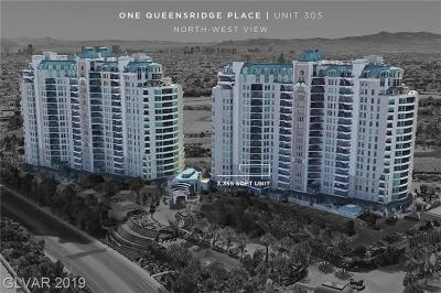 One Queensridge Place Phase 1, Mira Villa Condo-Unit 1, Summertrail Summerlin Village, South Half Parcel H-Village 3, Red Bluffs At Crossing-Unit 3, Red Bluffs At The Crossing- Un, Coronado At Summerlin Amd, Terraces In The Hills At Summe, Amber Ridge Condo Arbors, Amber Ridge Condo Arbors Summe High Rise For Sale: 9103 Alta Drive #305