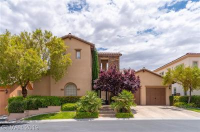 Las Vegas Single Family Home For Sale: 4251 San Alivia Court