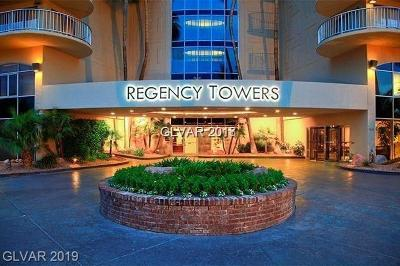 Las Vegas High Rise For Sale: 3111 Bel Air Drive #22H