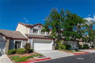 Sunset Mesa Condo/Townhouse For Sale: 513 Red Canvas Place