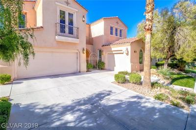 Henderson, Las Vegas Single Family Home Under Contract - No Show: 11282 Parleys Cone Court