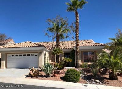 Las Vegas NV Single Family Home Under Contract - No Show: $550,000