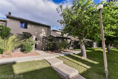 Las Vegas Condo/Townhouse Under Contract - No Show: 4064 Great Plains Way
