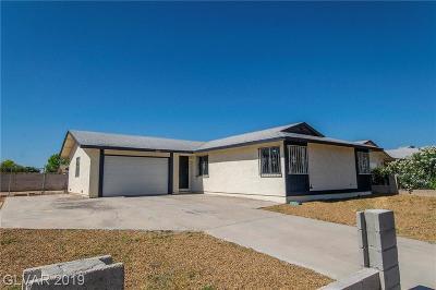 LAS VEGAS Single Family Home For Sale: 5355 Black Rock Way