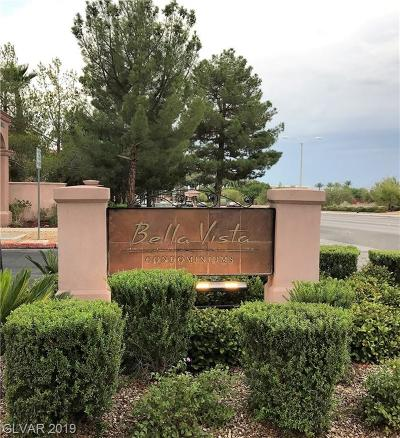 Henderson Condo/Townhouse Under Contract - No Show: 251 Green Valley #221