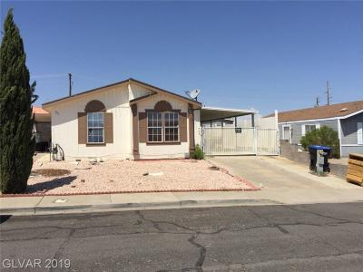 Henderson Single Family Home For Sale: 521 Topaz Avenue