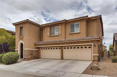Las Vegas NV Single Family Home For Sale: $539,999
